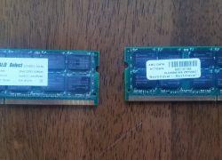 Prodám 2x 2GB DDR2 do notebooku