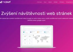 Zvýšení návštěvnosti webu od 50Kč nebo zdarma NejSurf.cz