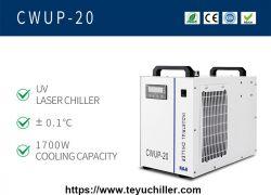 Ultrarychlý laserový vodní chladič CWUP-20